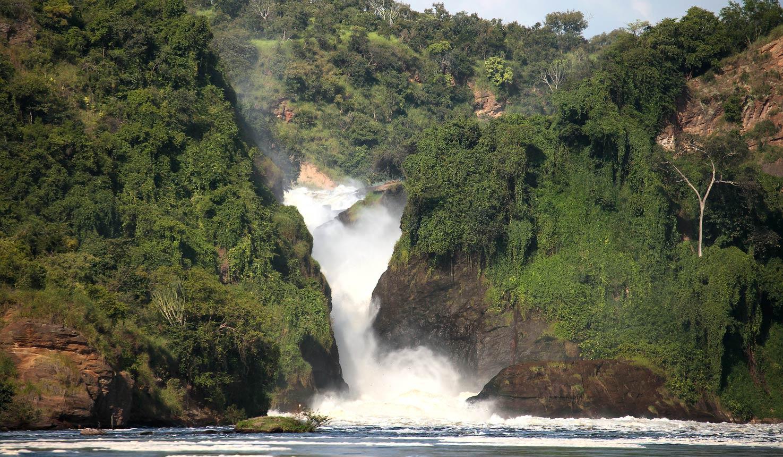 Murchison falls in Murchison falls national park