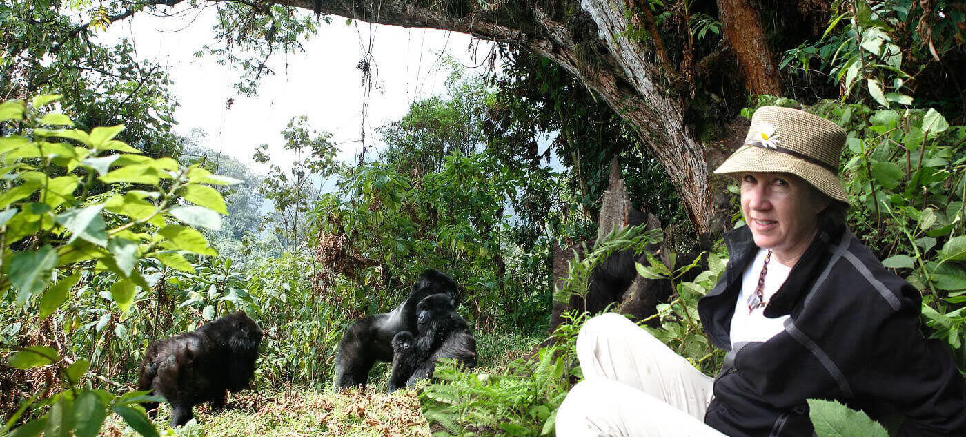 8 days great apes Uganda safari